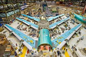 Boeing 747 in Assembly