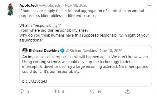 ApoloJedi- Evolution's claim: Accidental Aggregation of stardust