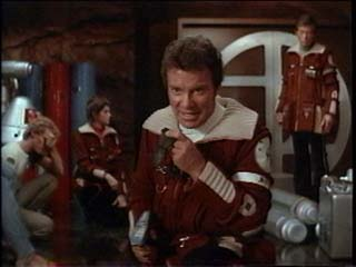 "Captain Kirk to Kahn - ""Like a poor marksman you keep missing the target!"""