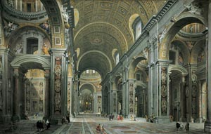 Interior - St. Peter's Basilica