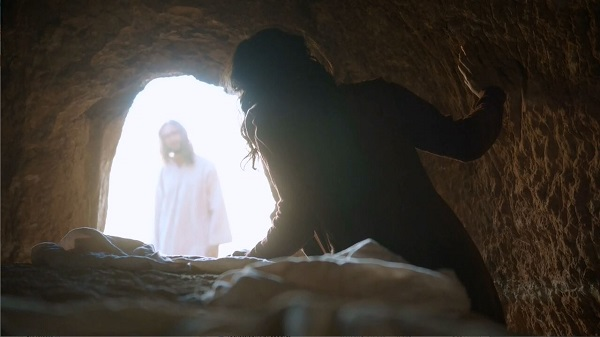 The risen Messiah is revealed to Mary Magdalene