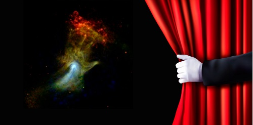 The Hand of God (nebula) behind the Veil of Science