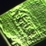 3D image created by the VP-8 image analyzer from a 1931, 2D photo of the Shroud