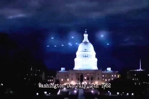 Washington DC UFO sightings, 1952
